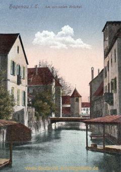 Hagenau im Elsass, Am schmalen Brückel