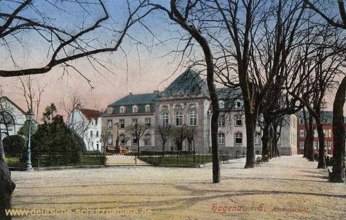 Hagenau im Elsass, Amtsgericht