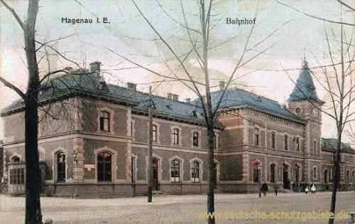 Hagenau im Elsass, Bahnhof