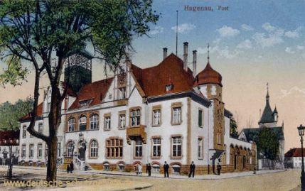 Hagenau, Post