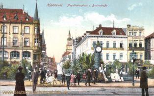 Hannover, Aegidientorplatz und Breitestraße
