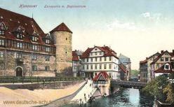 Hannover, Leinepartie mit Beguinenturm