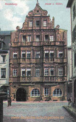 Heidelberg, Hotel zum Ritter