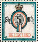 5 Schilling, Helgoland 1879