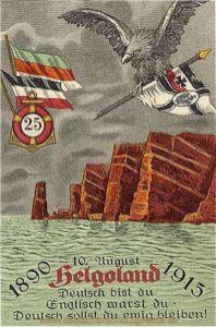 Helgoland, Deutsch bist Du...