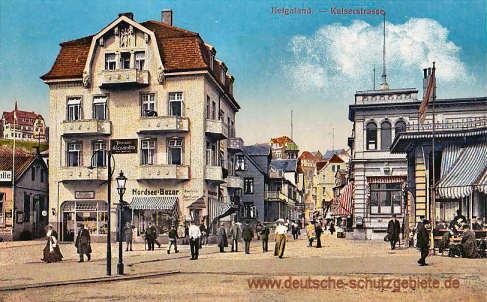 Helgoland, Kaiserstraße