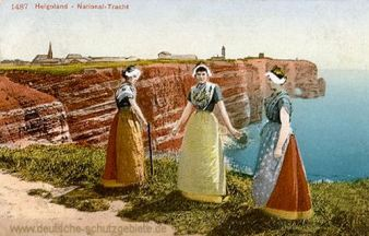 Helgoland, Nationaltracht