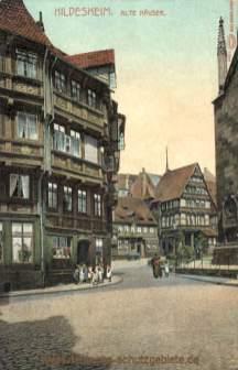Hildesheim, Alte Häuser