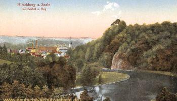 Hirschberg a. Saale mit Schloss und Hag
