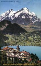 Hotel Kurhaus Fürigen mit Pilatus