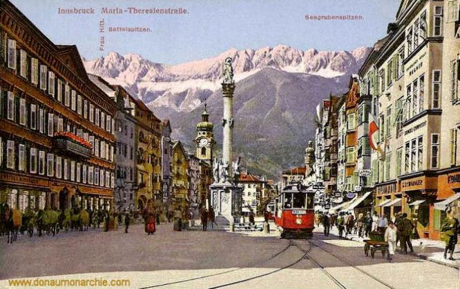 Innsbruck, Maria-Theresienstraße