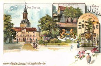 Jever, Schloss, Haus der Getreuen, Bismarck-Denkmal