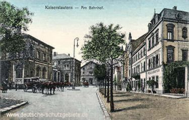 Kaiserslautern, Am Bahnhof