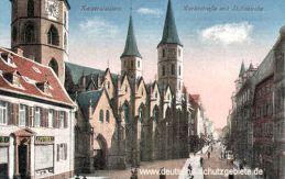 Kaiserslautern, Marktstraße mit Stiftskirche