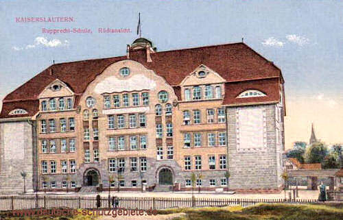 Kaiserslautern, Rupprecht-Schule, Rückansicht