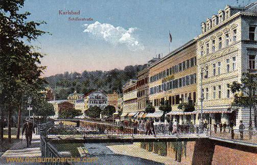 Karlsbad, Schillerstraße