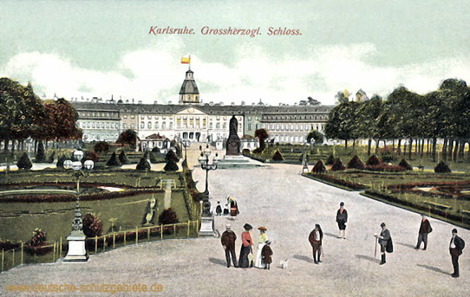 Karlsruhe, Großherzogliches Schloss