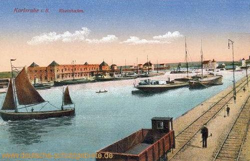 Karlsruhe i. B., Rheinhafen