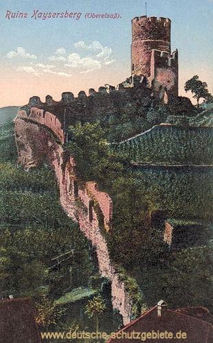 Kaysersberg, Ruine