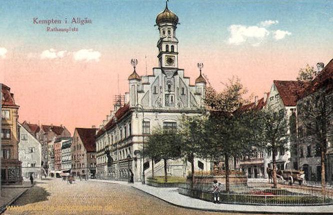 Kempten im Allgäu, Rathausplatz