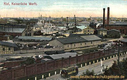 Kiel, Kaiserliche Werft