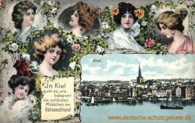 Kiel - ...die schönsten Mädchen am Ostseestrand
