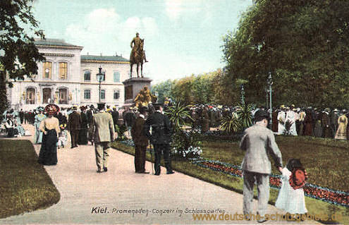 Kiel, Promenaden-Konzert im Schlossgarten
