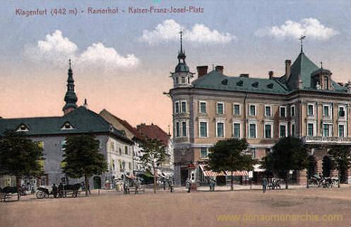 Klagenfurt, Rainerhof - Kaiser-Franz-Josef-Platz