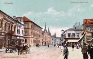 Klausenburg (Kolozsvár - Cluj), Wesselényi Miklós utca