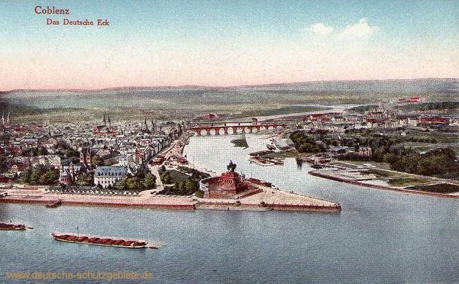Koblenz, Das Deutsche Eck