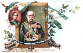 König Albert von Sachsen als Generalfeldmarschall