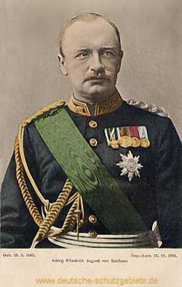 König Friedrich August von Sachsen