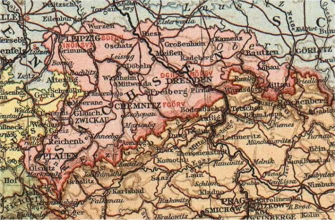 Königreich Sachsen, 1866 - 1918