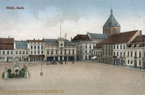 Köslin, Markt