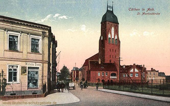 Köthen in Anhalt, St. Martinskirche