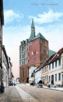 Kolberg, Dom und Domstraße