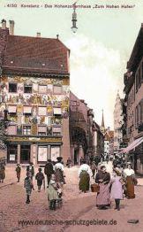 """Konstanz, Hohenzollernhaus """"Zum Hohen Hafen"""""""