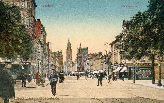 Krefeld, Rheinstraße