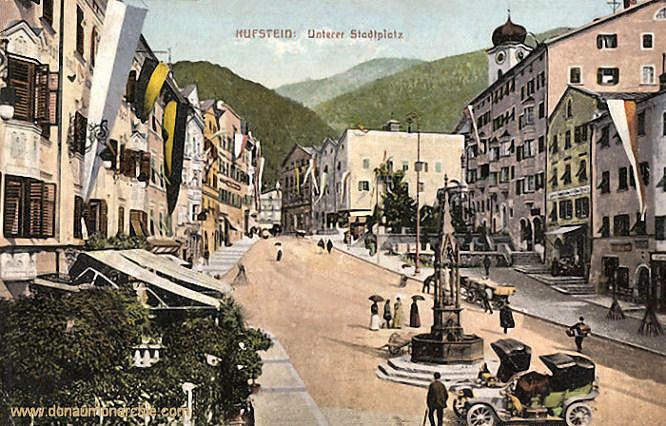 Kufstein, Unterer Stadtplatz