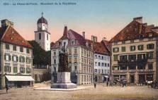 La Chaux-de-Fonds, Monument de la République