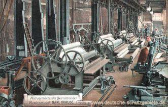 Montage rotierender Querschneider Maschinenfabrik Karl Krause Leipzig