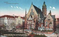 Leipzig, Thomasring mit Thomaskirche
