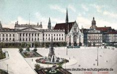 Leipzig, Universität mit Paulinerkirche (Unikirche)