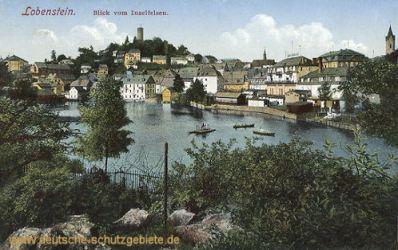 Lobenstein, Blick vom Inselfelsen