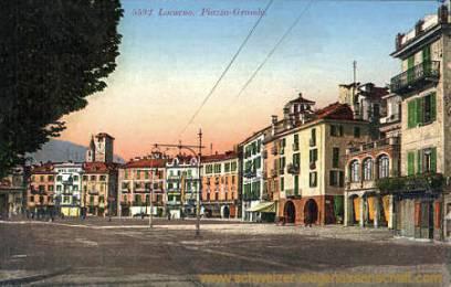 Locarno, Piazza-Grande