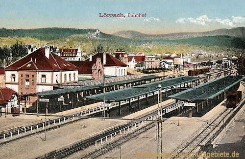 Lörrach, Bahnhof
