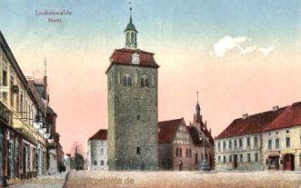 Luckenwalde, Markt