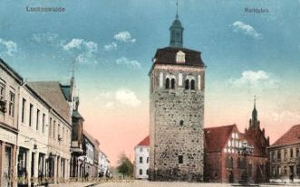 Luckenwalde, Marktplatz