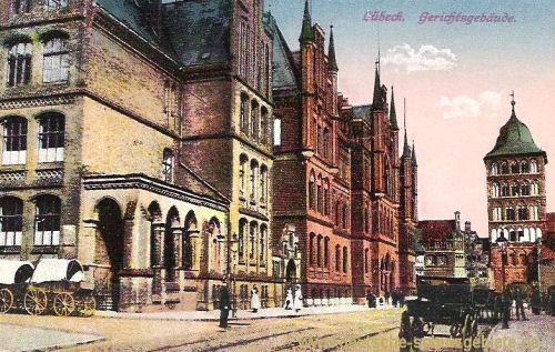 Lübeck, Gerichtsgebäude