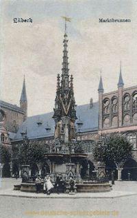 Lübeck, Marktbrunnen